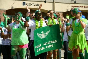 The Green Aviators, the champions of O-Week. Photo by Cody Hoffman.