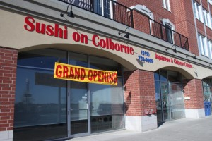 Sushi on Colborne. (Photo by Oren Weiner)