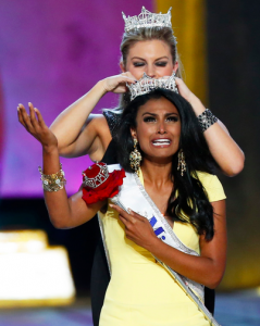 Miss New York Nina Davuluri won the 2014 Miss America Pageant Sunday in Atlantic City, N.J. (Photo courtesy of Reuters)