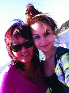 Carol Todd and her daughter Amanda, who took her life on October 10, 2012. Photo courtesy of Carol Todd.