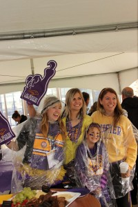Laurier Brantford students at Homecoming.
