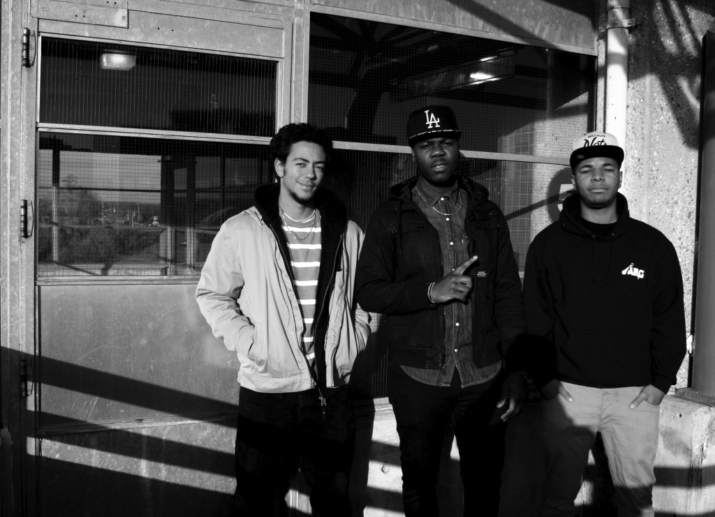 Ambition Music Group, from left to right: Brandon Pakeman, Taj Johnson, and Martin Pitt. Cody Groat