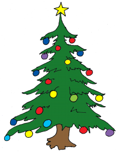 Christmas tree. Rebecca Duce.