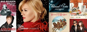Holiday Albums. Courtesy of Google.