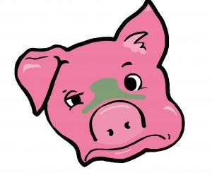 Sick Pig. Rebecca Duce.
