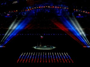 One of the amazing moments that occurred during the opening ceremonies at the 2014 Winter Olympics in Sochi, Russia. Source: http://tinyurl.com/qc2wtjk