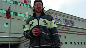 Laurier student Dorian Wilson nominates all of Laurier to perform a random act of kindness. Courtesy of Dorian Wilson.