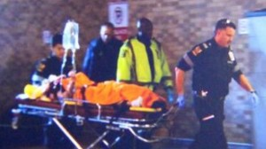 Police apprehend suspect in York University shooting. Courtesy of CTV News.