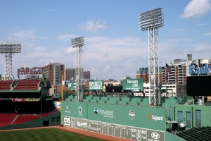 The legendary Fenway Park stadium in Boston. Photo by Kyle Morrison