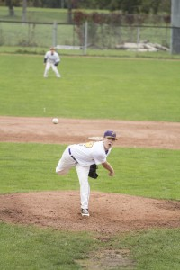 Andrew Ziedins is one of the key members of the Golden Hawks' pitching staff hoping to  repeat as OUA champions. By Will Huang