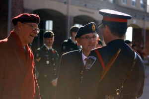 Brantford's Remembrance Day ceremonies on Nov. 11, 2014. Photo by Cody Hoffman