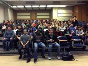 CC211 Restorative Justice class. Photo courtesy of Thomas Rose