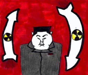 Sony Pictures servers were hacked by a group that is tied to the North Korean government. Art by Neha Sekhon