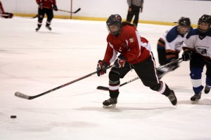 The Laurier girls' hockey team hosted tough competition like Fanshawe College (pictured) this past Friday, Feb. 6. Photo by Christina Manocchio