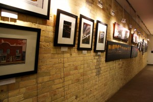 The Yellow Brick Wall features Exhibition No. 5 from January 5 to February 15. Photo by Christina Manocchio