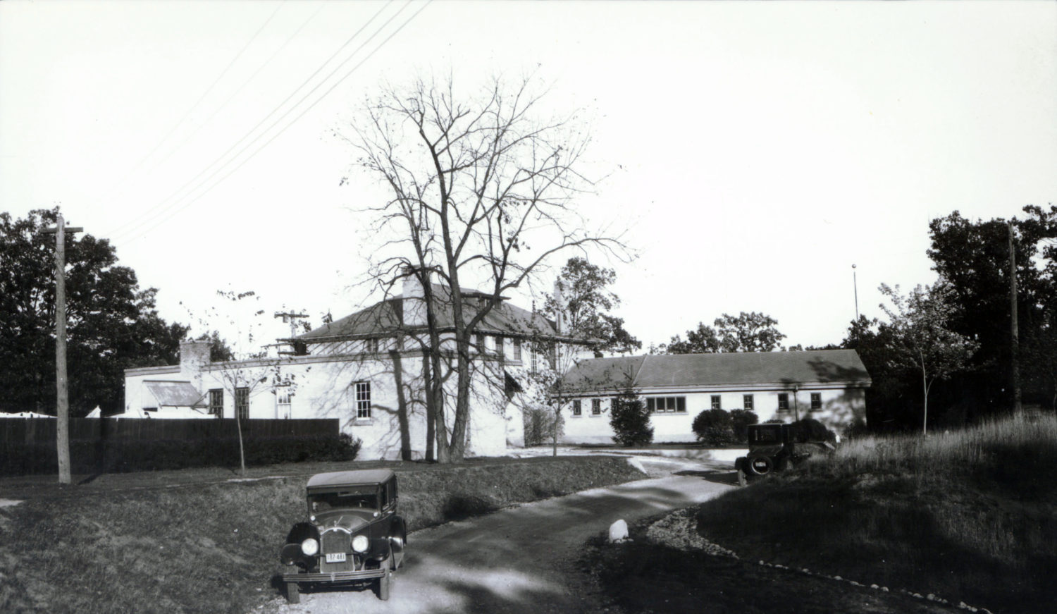 Brant Sanitarium as a TB clinic courtesy of Brant Archives